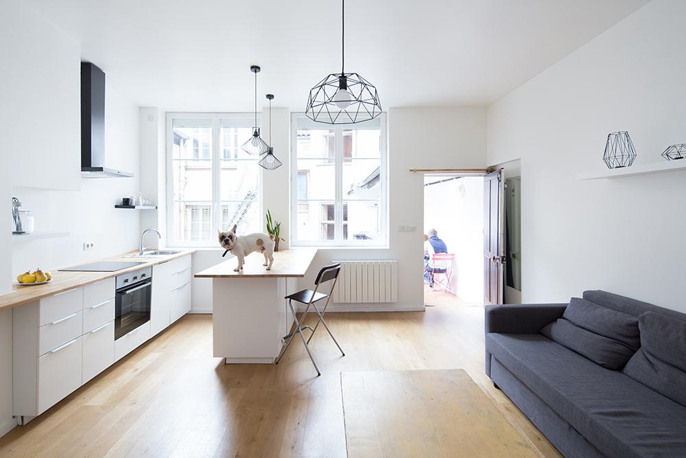 Rénovation d'un appartement rue Mercière