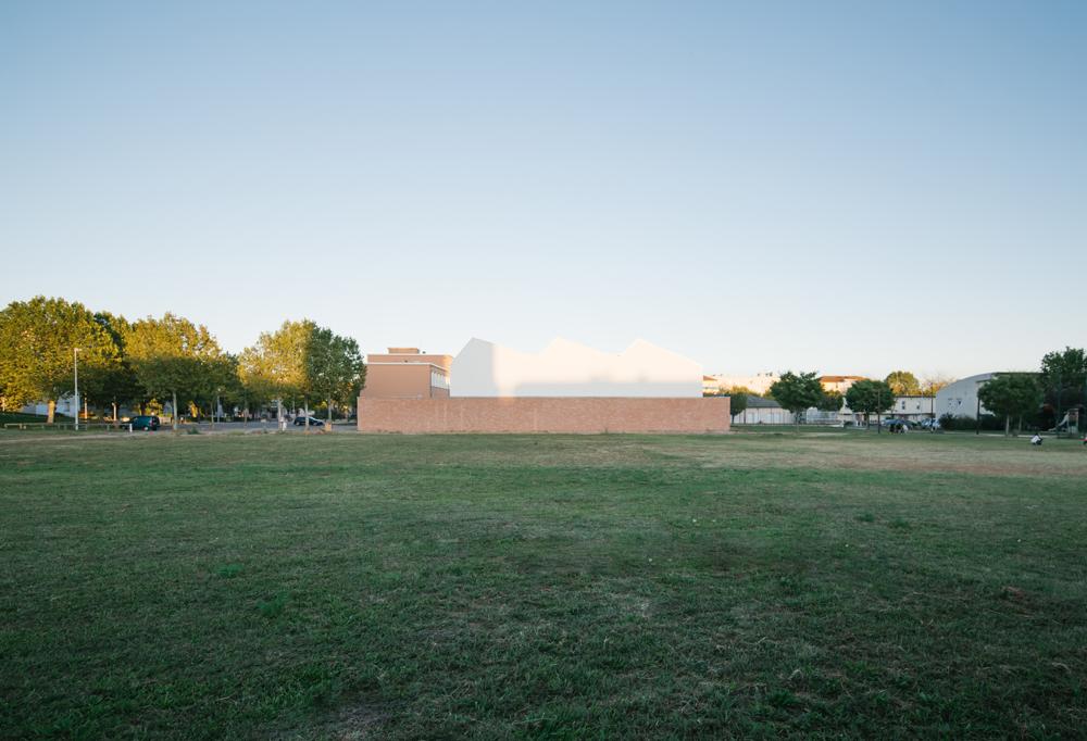 Construction d'un gymnase scolaire