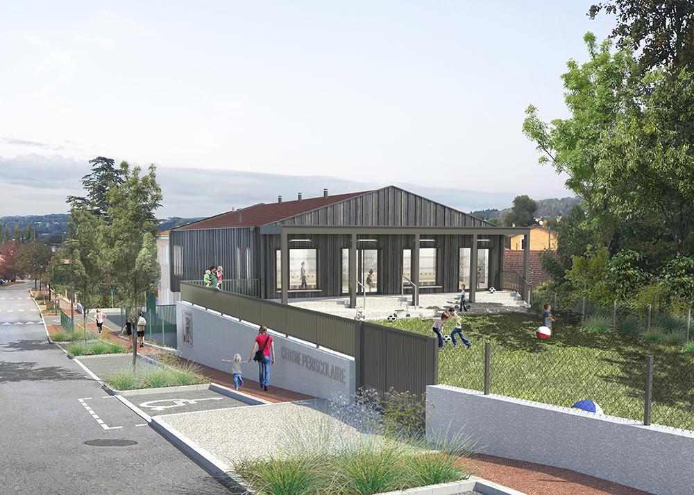 Construction d'un Centre Périscolaire et extension de la Cantine