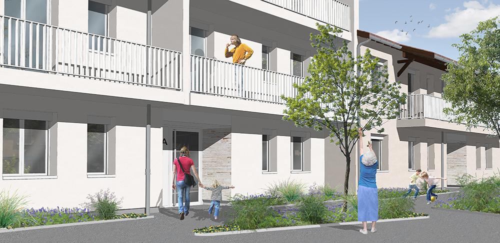 Réhabilitation thermique d'une résidence de logements